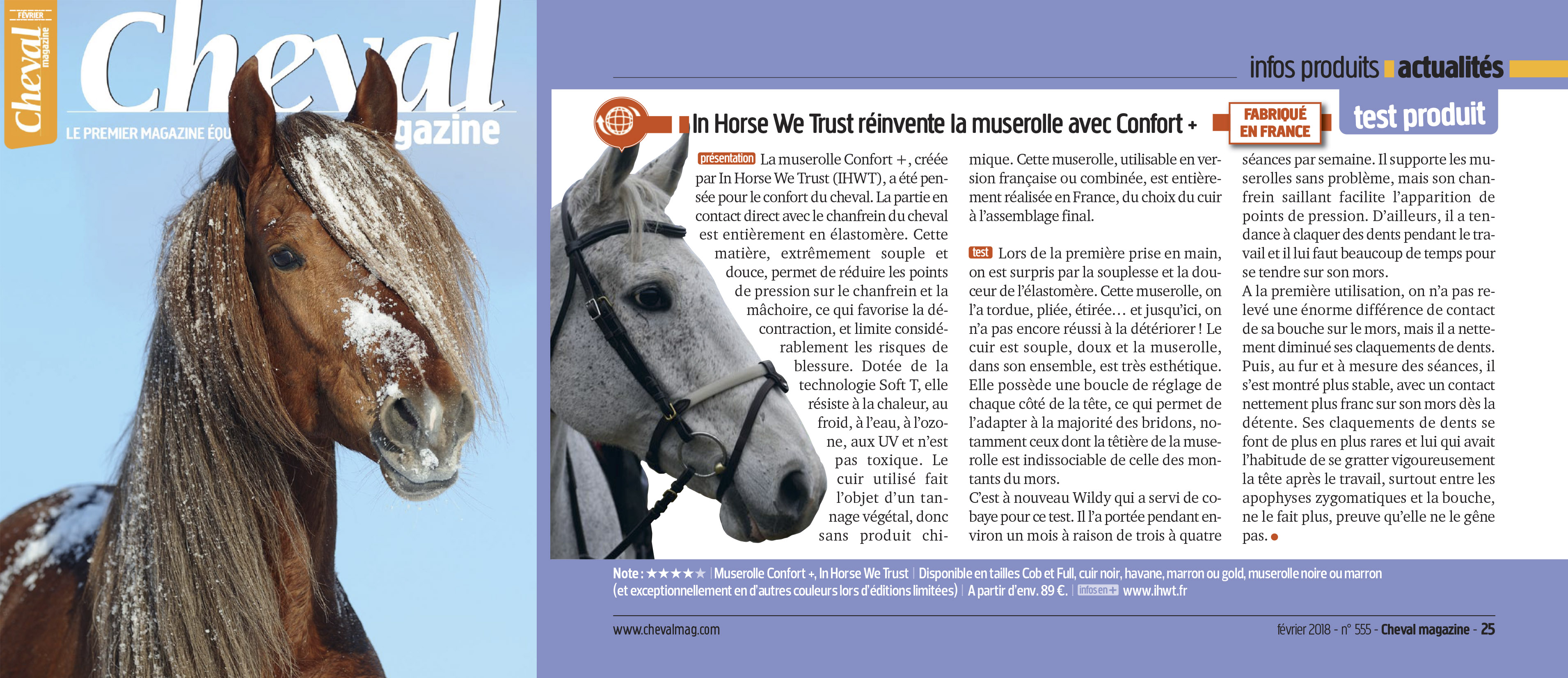 Test Cheval Magazine